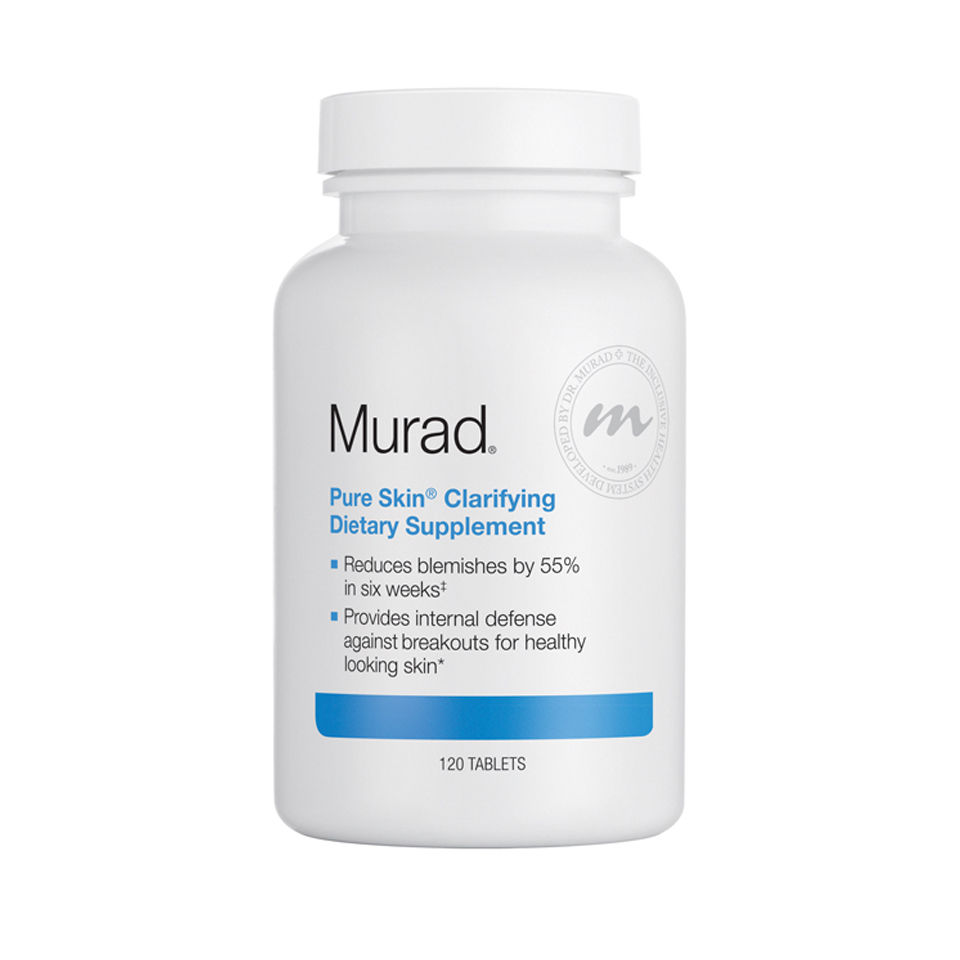 Complementos alimenticios iluminadores y clarificantes Murad Pure Skin Clarifying Supplement