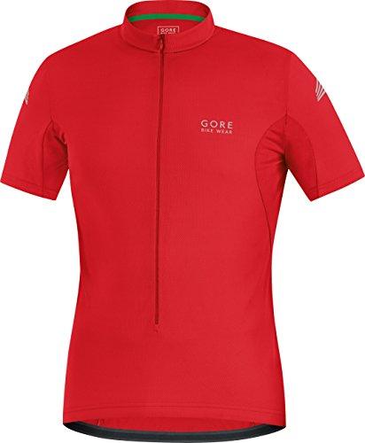 Gore Bike Wear Element - Maillot para hombre, color rojo, talla S