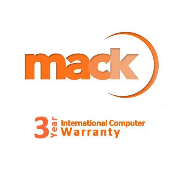 Mack - Garantía ilimitada internacional de 3 años para ordenadores