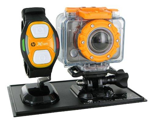 HP AC 200W - Cámara deportiva (H.264, 1080p, CMOS, 5 MP, 1/0,0984 mm (1/2.5