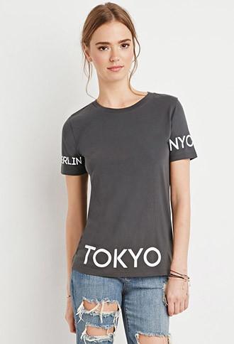 Camiseta Ciudades